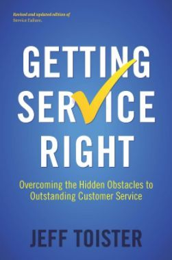 Getting Service Right by Jeff Toister